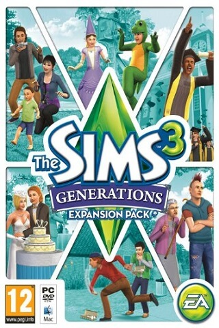 The Sims 3: Generations Все возрасты